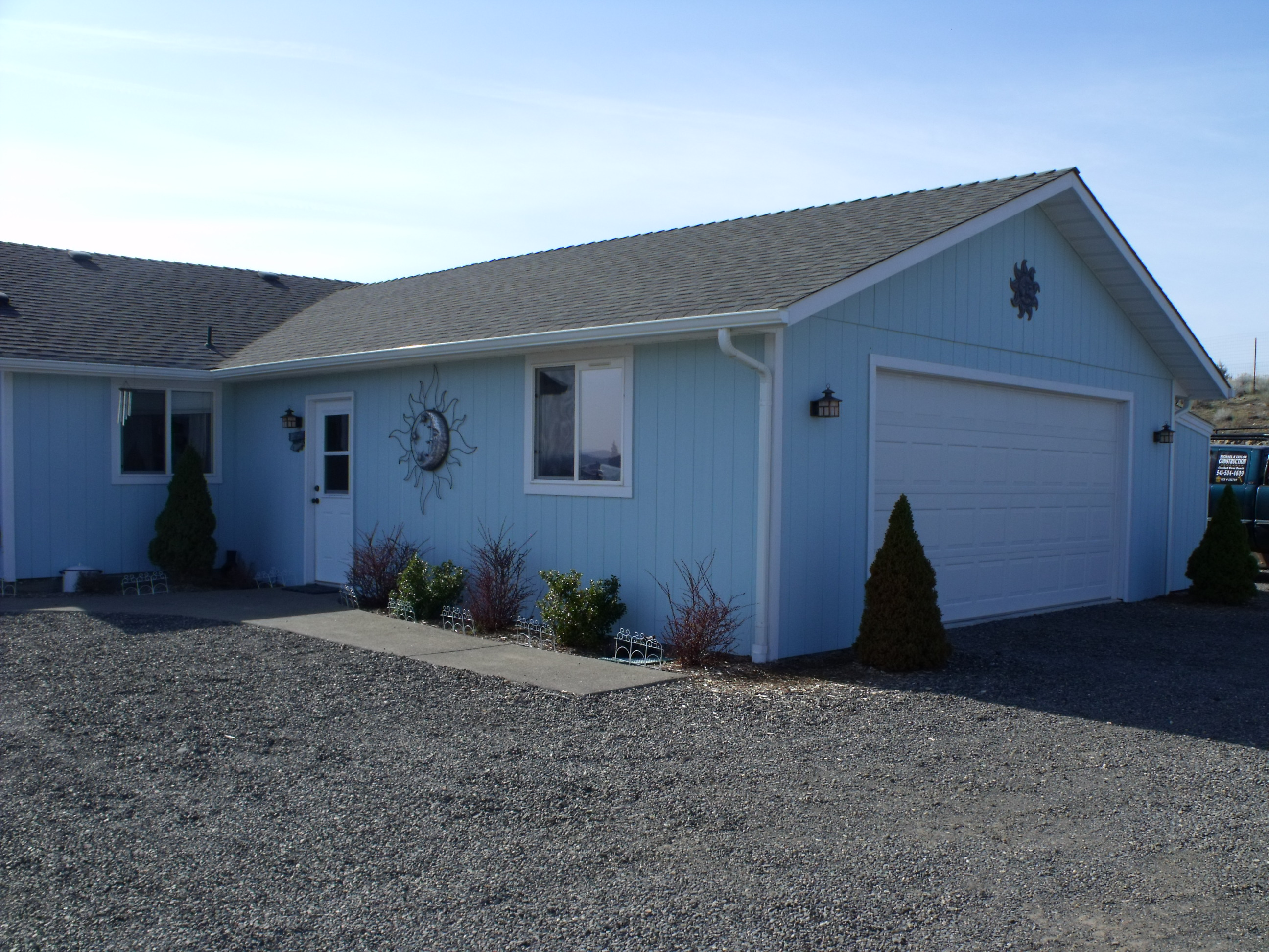 An Add on Garage | Michael R Taylor Construction R And Garage on