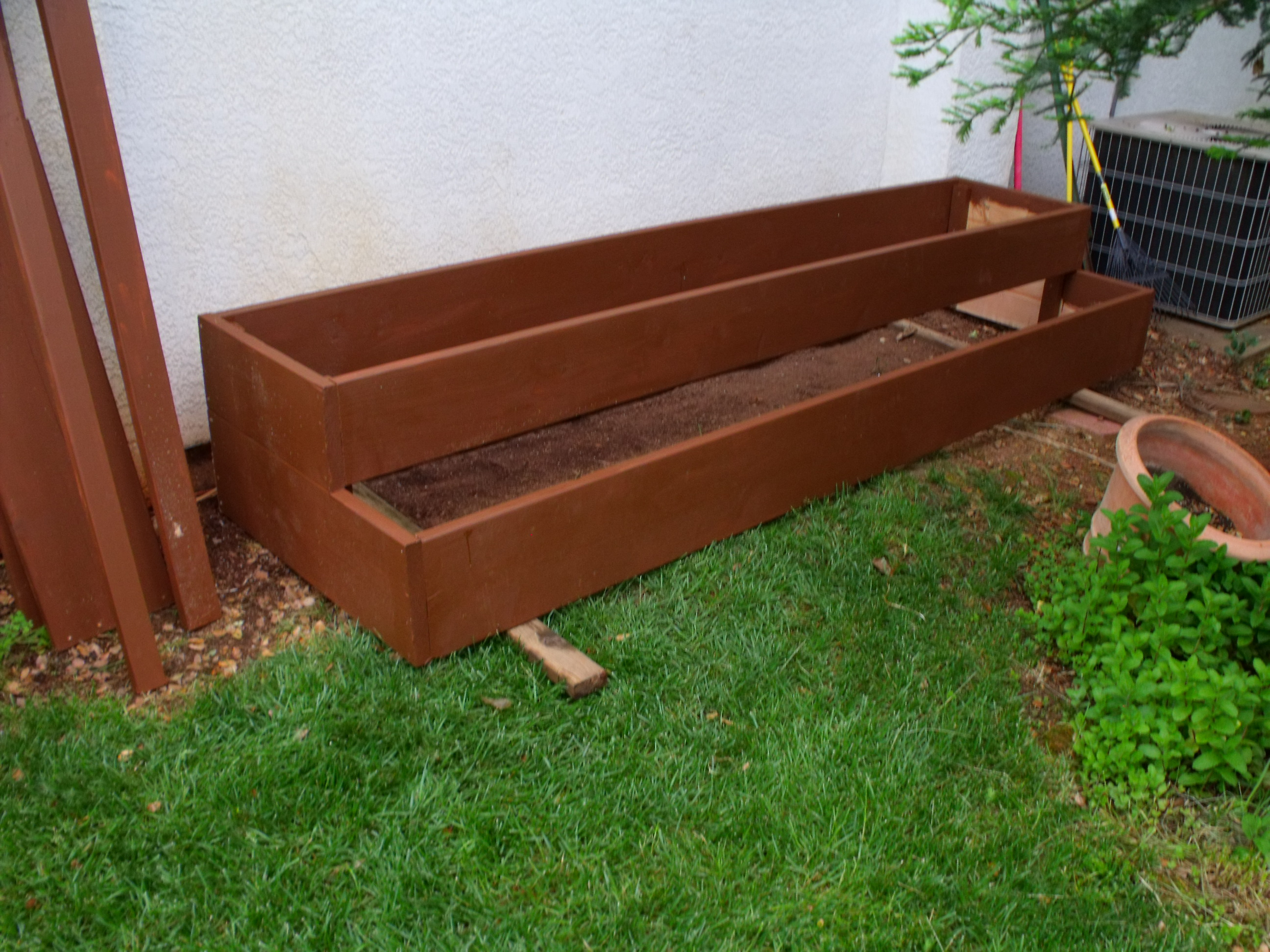 Charmant Raised Bed Planters