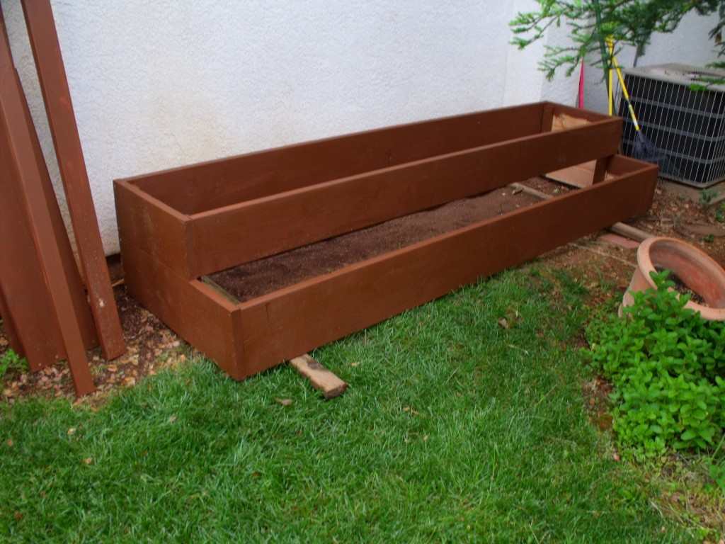 Raised Bed Planters Michael R Taylor Construction