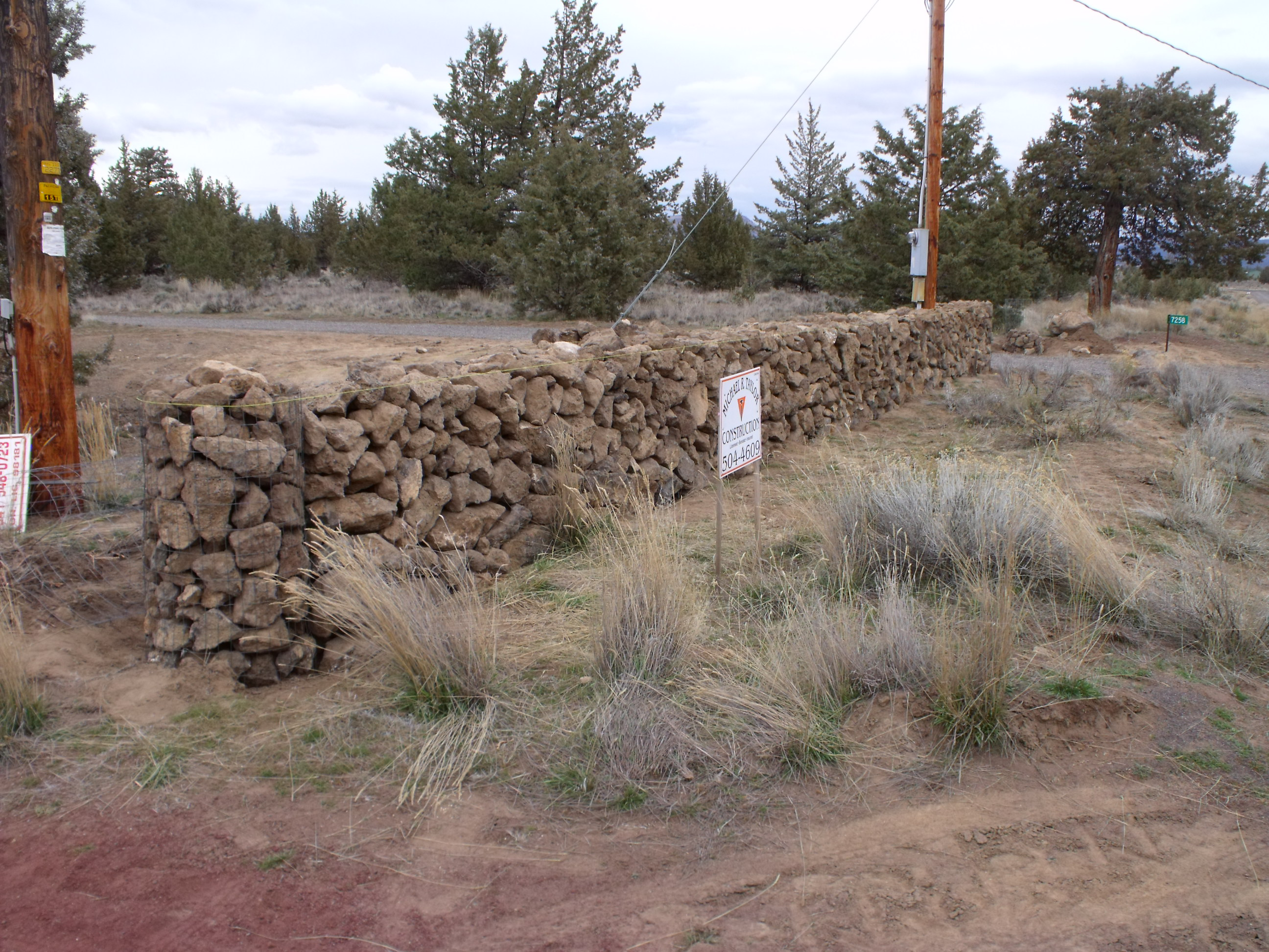 Rock Walls Michael R Taylor Construction